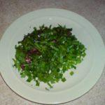 Зелень для супа резаная