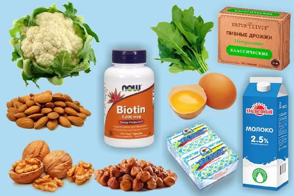 Биотин, Витамин В7