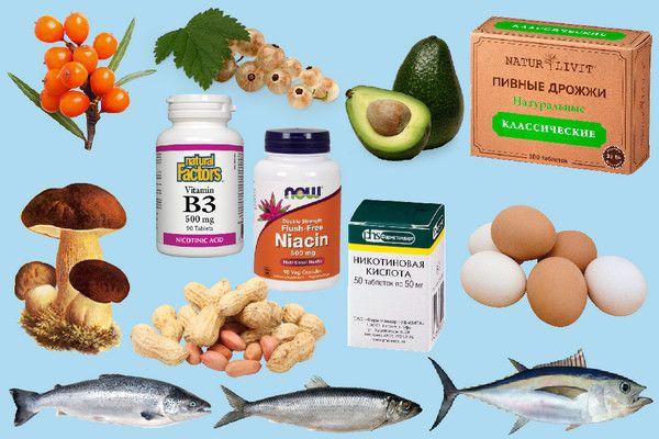 Витамин В3, ниацин