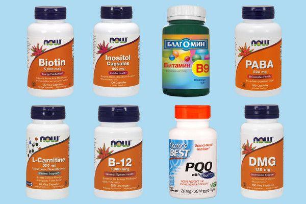 Витамины группы В. часть 2